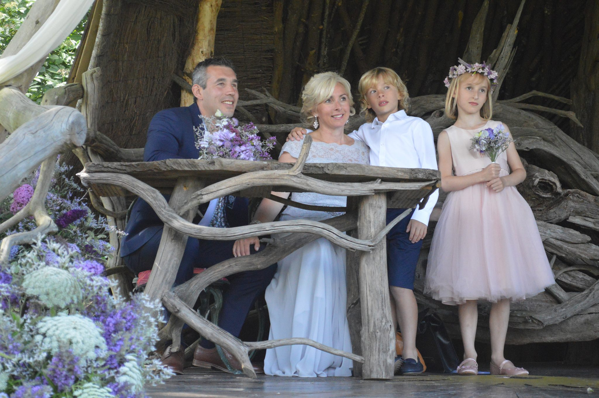 laura amp warrens wedding ash rescue centre